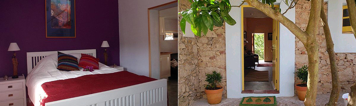De studio's van bed and breakfast Quinta da Perdiz
