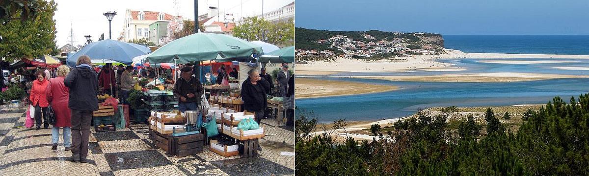 Omgeving van B&B Quinta da Perdiz aan de Zilverkust